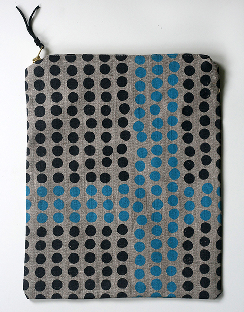 Intersection Foldover Clutch by Jen Hewett