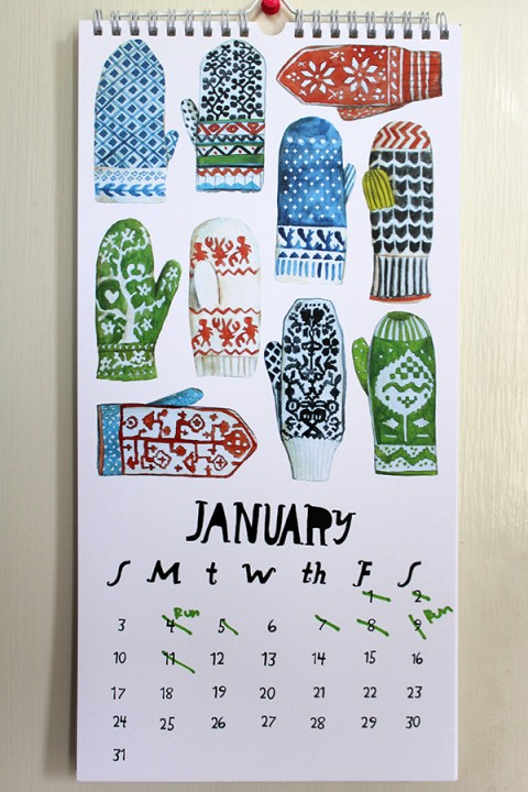 Calendar by Lisa Congdon