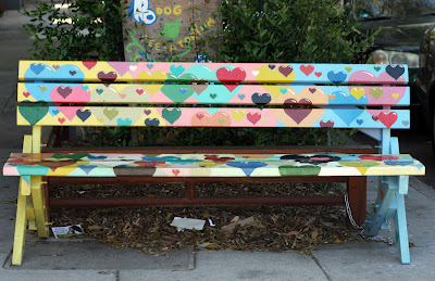 The Neighborhood Park Bench Project Jen Hewett Printmaker